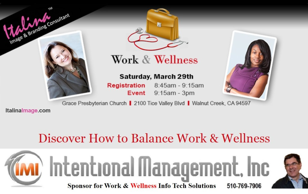 Intentional Management Work and Wellness Sponsor