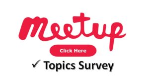 future meetup topic areas